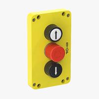 button 01 18 3D