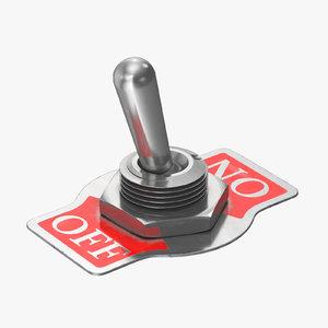 3D model switch 06