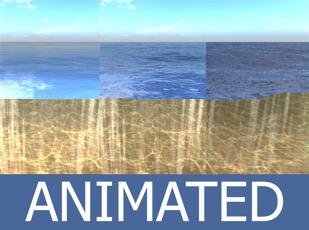 sea surface waves 3D