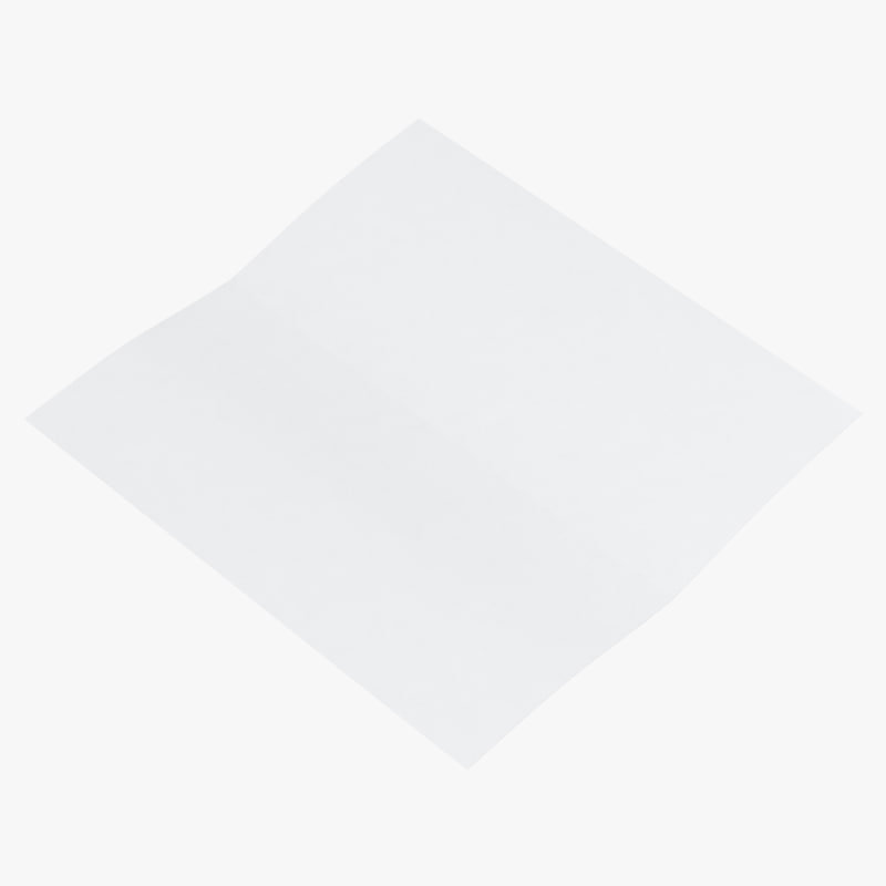 bifold brochure mockup open 3D model
