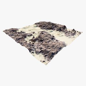terrain river model