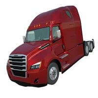 3D model freightliner cascadia 2017 truck