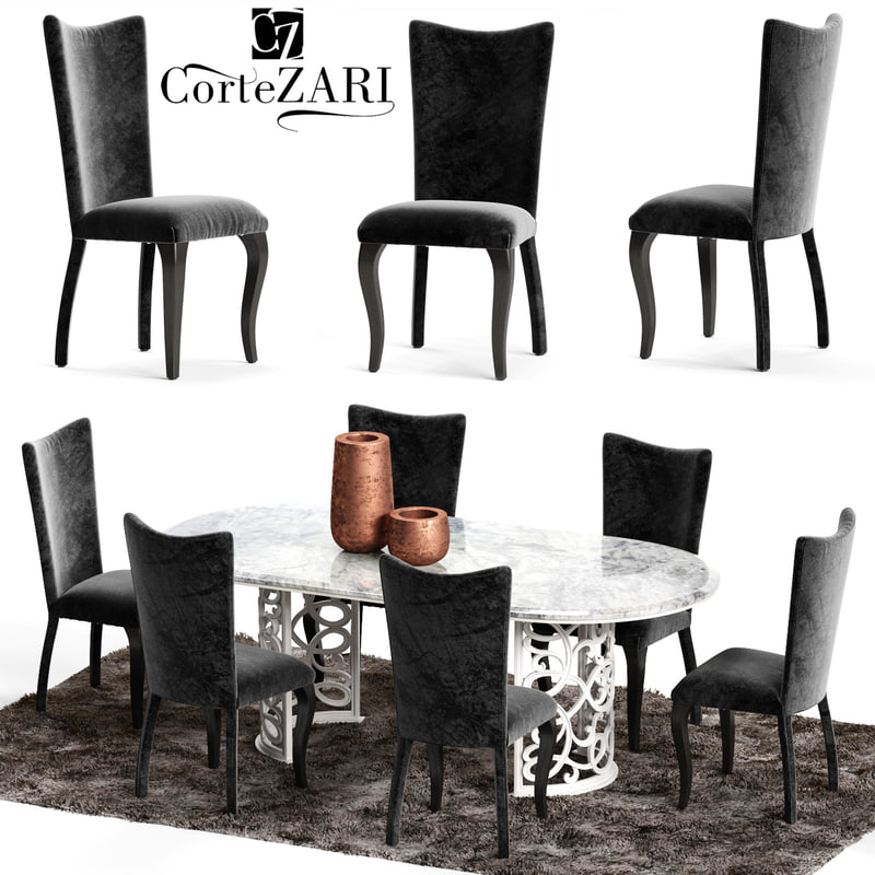 3D corte zari eva chair