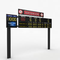 Baseball scoreboard small