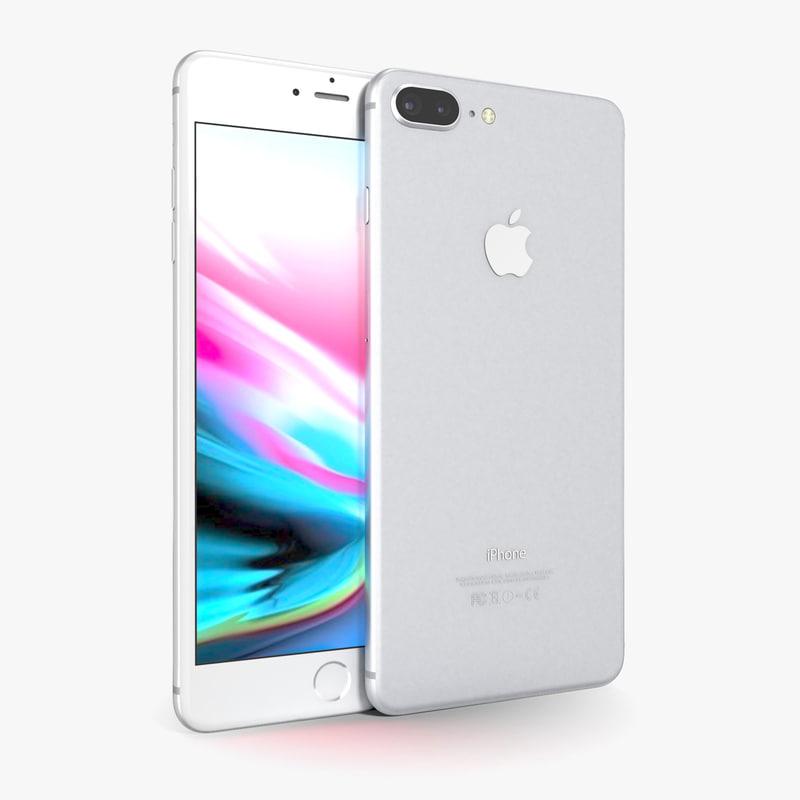 apple iphone 8 silver model