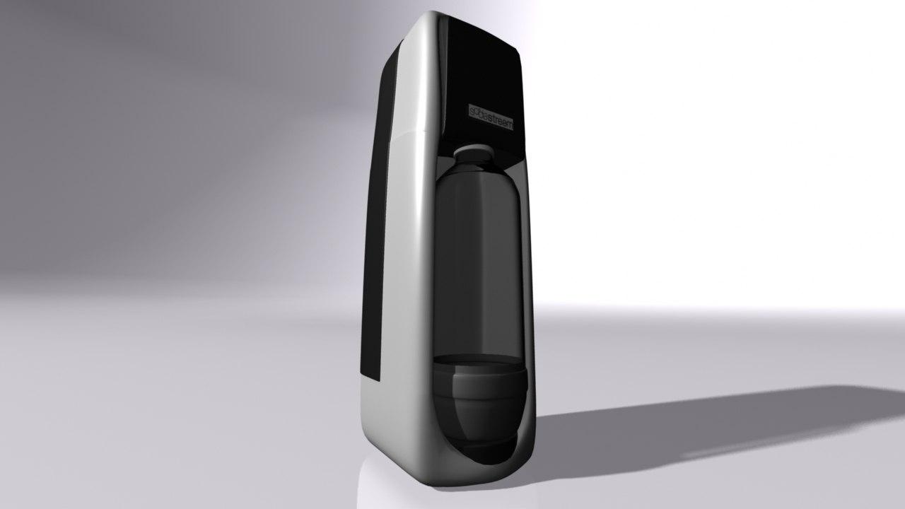 3D sodastream machine model