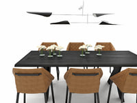 dining set 15 3D model