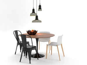 3D dining set 23