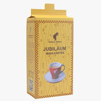 julius meinl coffee packaging 3D model