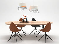 3D model dining set 147
