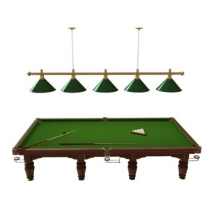 3D billiard table regent