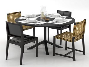 dining set 157 3D model