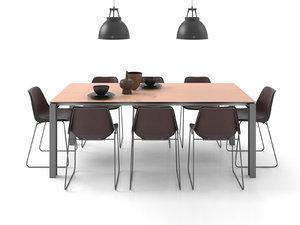 dining set 5 3D