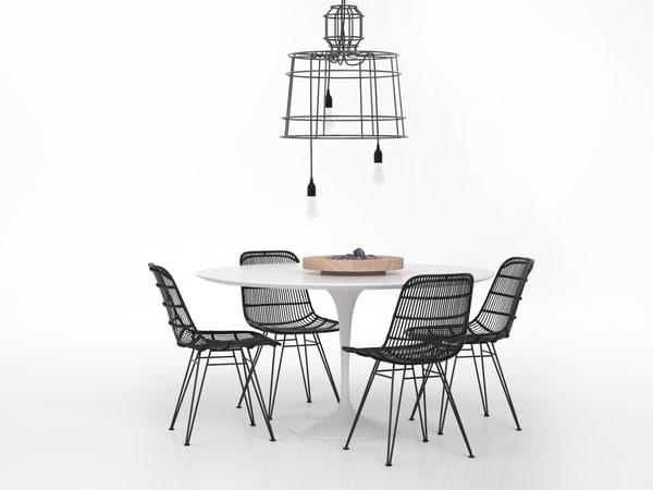 dining set 81 3D