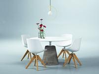 dining set 158 3D model