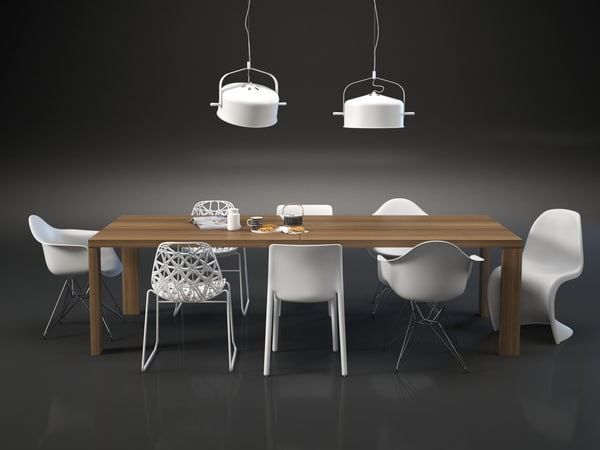 dining set 75 3D model