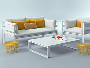 3D model outdoor set 15