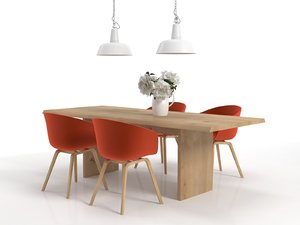 dining set 34 3D model