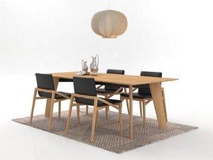 dining set 37 3D model