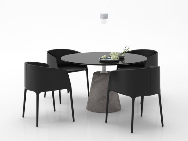 dining set 18 3D
