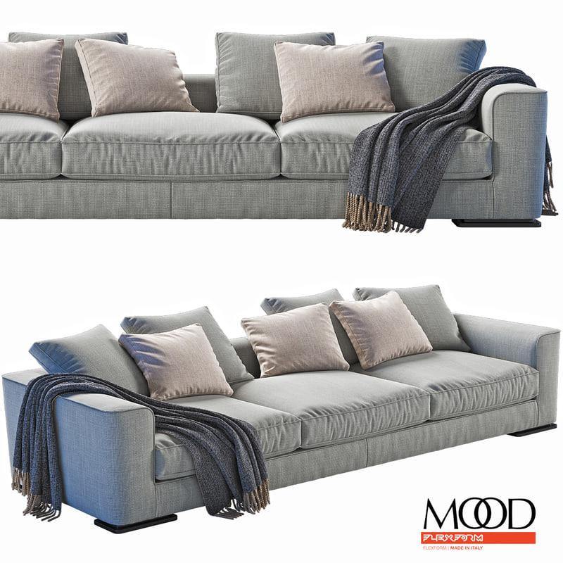 3D roberto sofa model