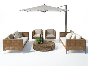 outdoor set 24 3D