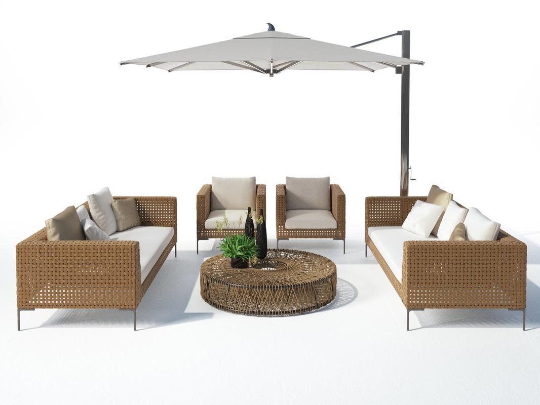 outdoor set 24 3D