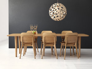 dining set 109 3D model