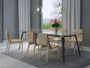 dining set 59 3D