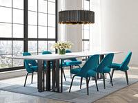 dining set 134 3D