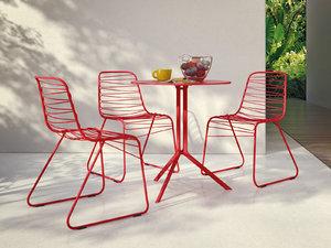 outdoor set 30 3D model