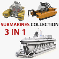 personal submarines 3D