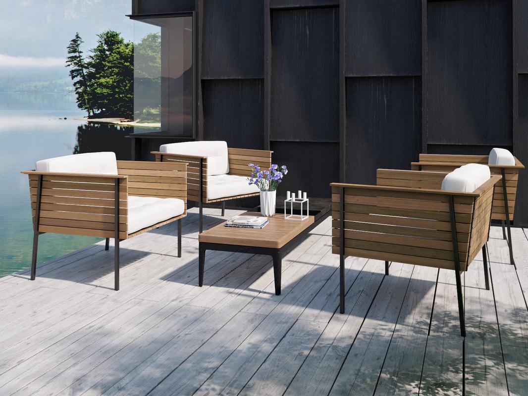3D outdoor set 34