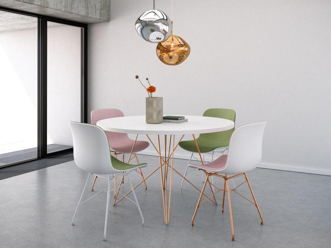 dining set 14 3D
