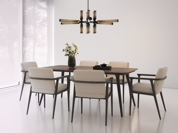 3D dining set 165 model