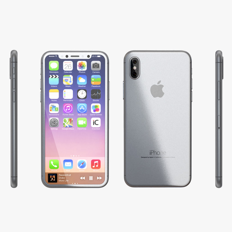 iphone x silver model