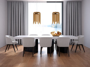 dining set 167 3D model