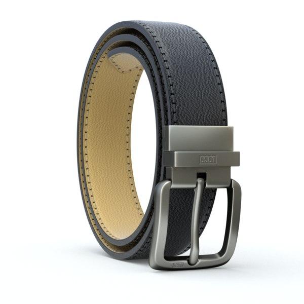 3D belt leather
