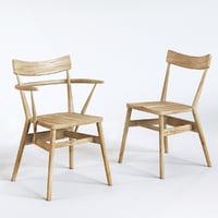 3D originals holland park armchair model