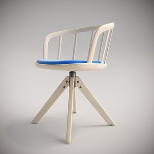 nym armchairs chair 3D