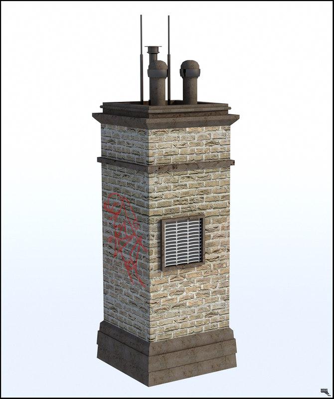 3D chimney