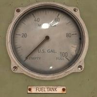fuel gauge 3D model