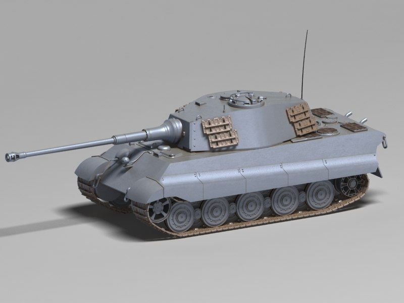 3D german heavy tank tiger model