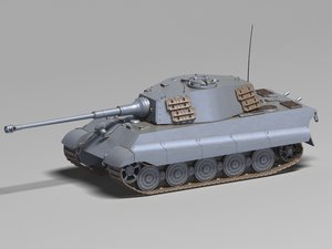 3D german heavy tank tiger model