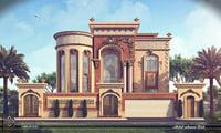 villa classic 3D