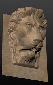 lion venezia 3D model