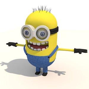 3D minion model