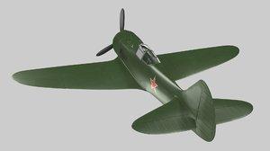 la-5 lavochkin fighter 3D