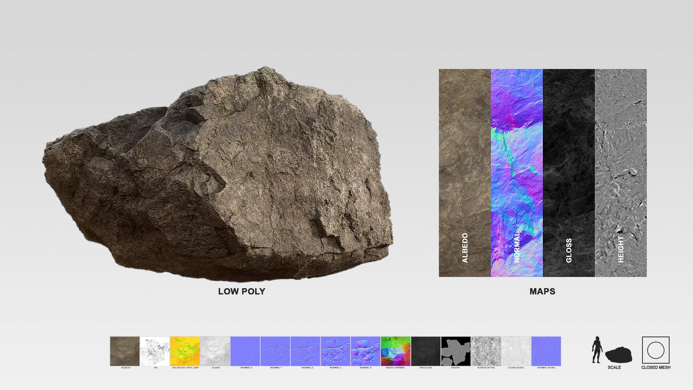 Lake Stone 3D scan