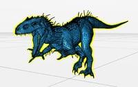 dinosaur indominus 3D